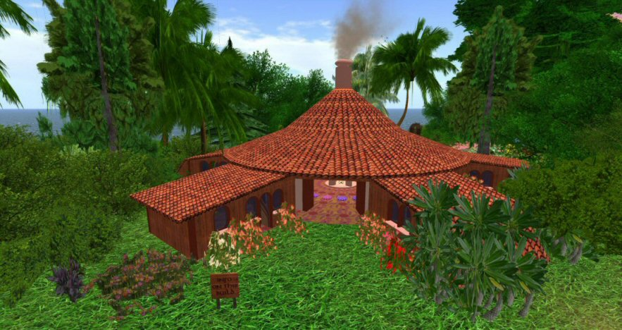 Fest of the 8th birthday of Inworldz: community elven home, 2017