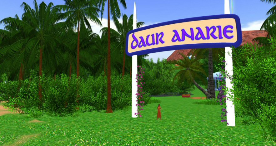 Entrance of my region «Daur Anarie», 2019