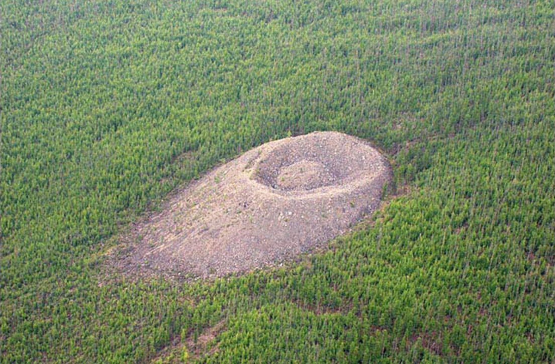 The Patomski crater in Siberia
